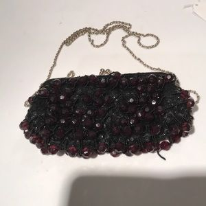 La Regale black gem purse